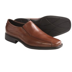 ECCO New Jersey Perforated Slip-On Shoes - Leather (For Men)