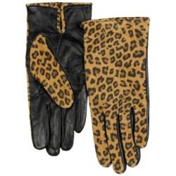 Cire by Grandoe Printed TouchTec Gloves - Sheepskin (For Women)