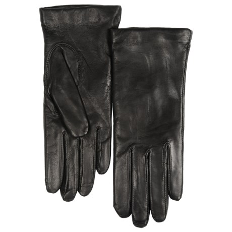 Grandoe Deerskin Gloves, Cashmere Lined (For Women)