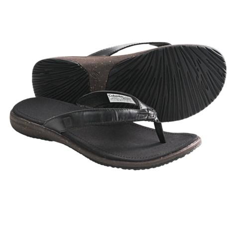 Columbia Sportswear Tilly Jane Flip Sandals - Leather (For Women)