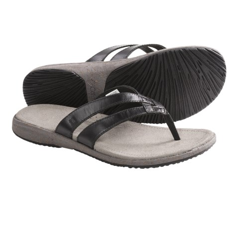Columbia Sportswear Tilly Jane Flip II Sandals - Leather (For Women)