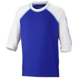 Columbia Sportswear Mini Breaker Sunguard Shirt - UPF 50, Elbow Sleeve (For Youth)