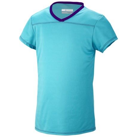 Columbia Sportswear Vista Ridge Shirt - UPF 50, Short Sleeve (For Youth Girls)
