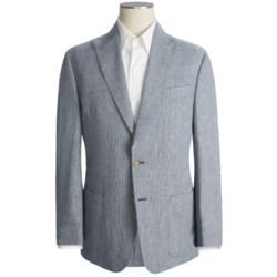 Thomas Dean Houndstooth Blazer - Cotton-Linen (For Men)