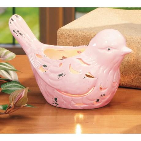 Deco Glow Bird Tea Light Holder - Large