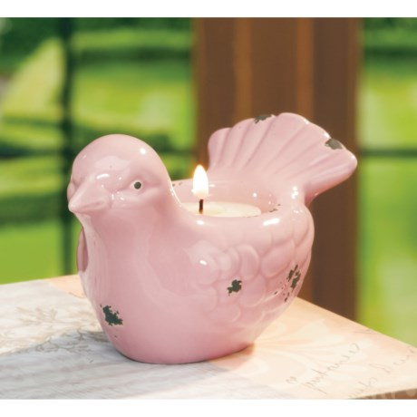 Deco Glow Bird Tea Light Holder - Small