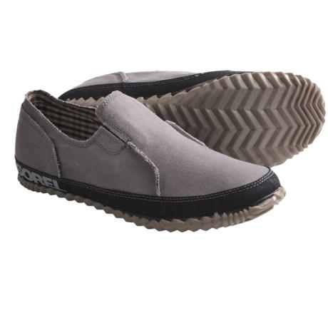 Sorel Canvas Moc Shoes - Slip-Ons (For Men)