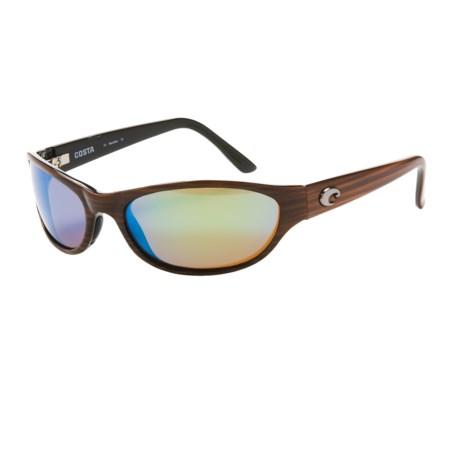 Costa Triple Tail Sunglasses - Polarized 400G Glass Mirror Lenses
