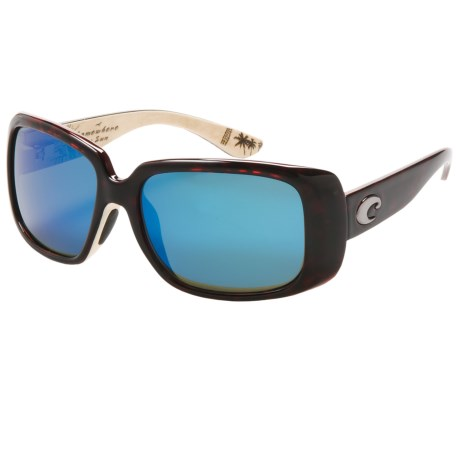 Costa Del Mar Little Harbor Kenny Chesney Sunglasses - Polarized, 580G Glass Mirror Lenses