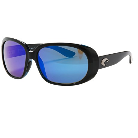 Costa Hammock Sunglasses - Polarized 400G Mirror Glass Lenses (For Women)