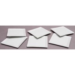 "BIA Cordon Bleu 5"" Square Plates - Set of 6"