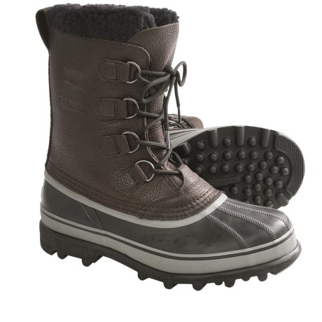 Sorel Caribou Wool Winter Pac Boots - Waterproof, Insulated (For Men)