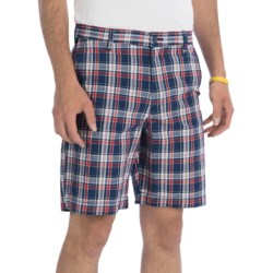 Chase Edward Plaid Golf Shorts (For Men)