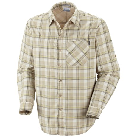 Columbia Sportswear Insect Blocker® Plaid Shirt - UPF 30, Long Sleeve (For Men)