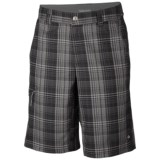 Columbia Sportswear Cool Creek Shorts - UPF 15, Stretch Plaid (For Men)