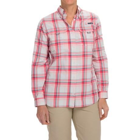 Columbia Sportswear Super Bahama Shirt - UPF 30, Roll-Up Long Sleeve (For Women)