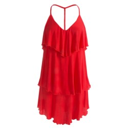 Red Carter Cover-Up Dress - Spaghetti Strap (For Women)