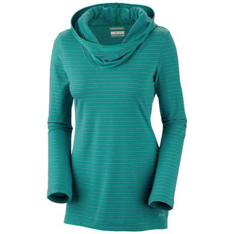 Columbia Sportswear Reel Beauty Print Hooded Shirt - UPF 15, Long Sleeve (For Women)