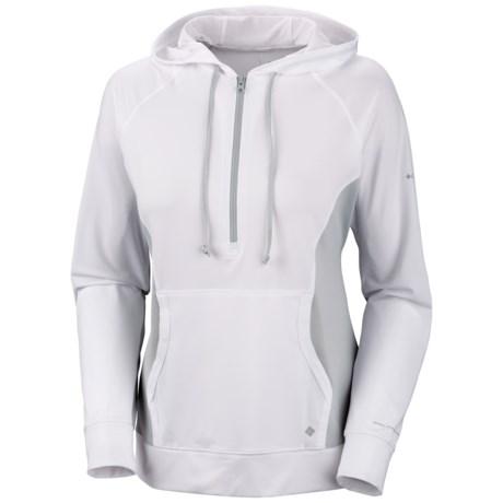 Columbia Sportswear Sun Chill'd Hoodie - Zip Neck, Freezer Jersey (For Women)