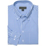 Scott Barber James Basic Check Sport Shirt - Button-Down Collar, Cotton, Long Sleeve (For Men)