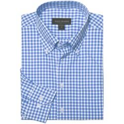 Scott Barber James Basic Check Sport Shirt - Button-Down Collar, Cotton, Long Sleeve (For Men)