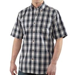 Carhartt Bellevue Plaid Shirt - Relaxed Fit, Short Sleeve (For Men)