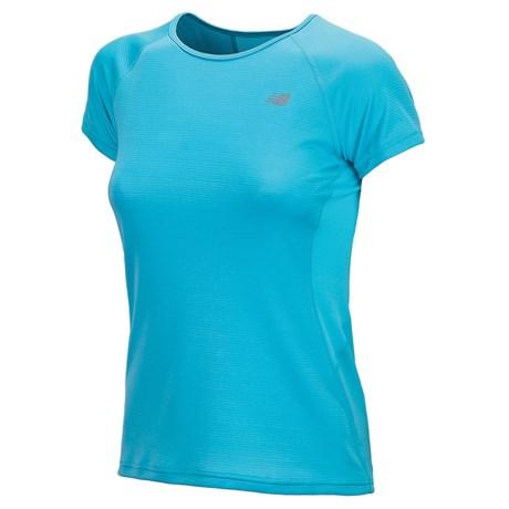 New Balance Momentum Shirt - Short Sleeve (For Women)