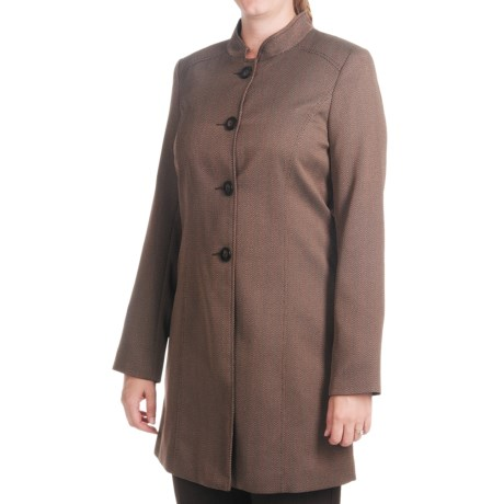 Isabella Pant Suit with Birdseye Duster Jacket (For Women)