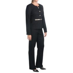 Isabella Cross Dye Pant Suit (For Women)