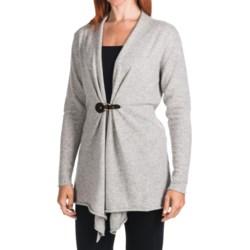 Lauren Hansen Cashmere Cardigan Sweater - Buckle (For Women)