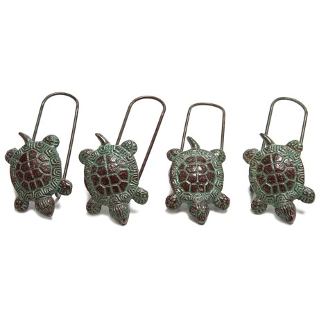 Ancient Graffiti Pot Perchers - Set of 4
