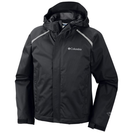 Columbia Sportswear Chromatech Omni-Tech® Rain Jacket (For Kids and Youth)