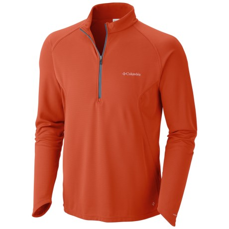 Columbia Sportswear Insect Blocker® Shirt - UPF 50, Zip Neck, Long Sleeve (For Men)