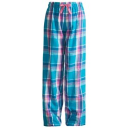 Boxercraft Pajama Bottoms - Flannel (For Girls)
