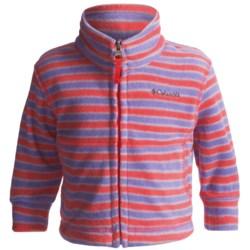 Columbia Sportswear Explorers Delight Jacket - Printed Fleece (For Infants)
