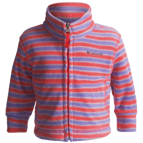Columbia Sportswear Explorers Delight Jacket - Printed Fleece (For Infants)