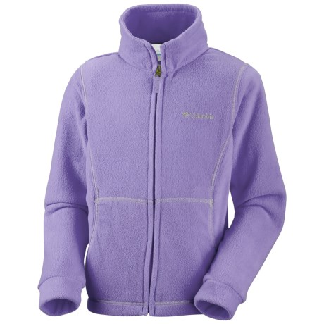 Columbia Sportswear Explorers Delight Fleece Jacket (For Girls)
