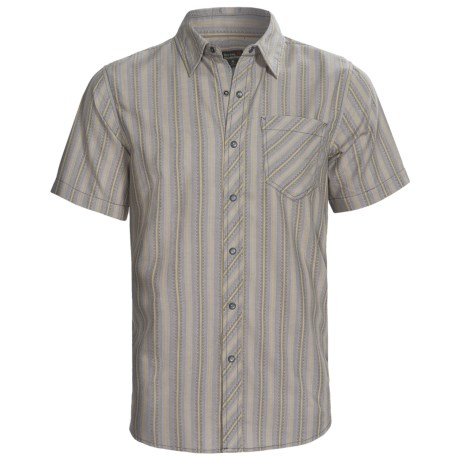 Royal Robbins Stinson Stripe Shirt - Short Sleeve (For Men)