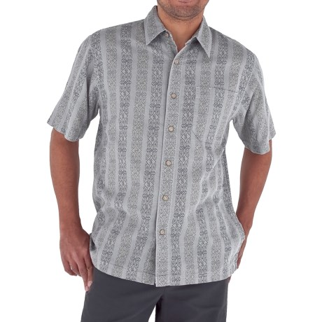 Royal Robbins Cool Mesh Print Shirt - Cotton, Short Sleeve (For Men)