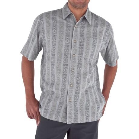 Royal Robbins Cool Mesh Print Shirt - Cotton, Short Sleeve (For Men)