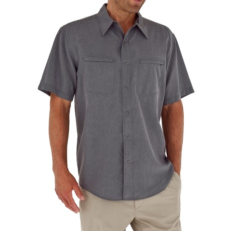 Royal Robbins Monument Shirt - UPF 50+, Short Sleeve (For Men)