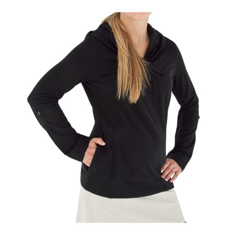 Royal Robbins Mary Jane Hoodie Shirt - UPF 25+, Cowl Neck, Roll-Up Long Sleeves (For Women)
