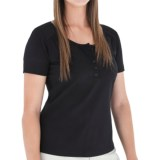 Royal Robbins Essential Henley Shirt - UPF 50+, Short Sleeve (For Women)