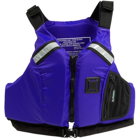 Kokatat Eureka PFD Life Jacket -  USCG Approved, Type III (For Men and Women)