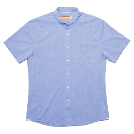 SLVDR Menard Shirt - Cotton Chambray, Short Sleeve (For Men)