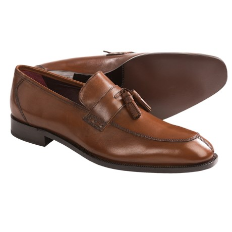 Johnston & Murphy Carlock Tassel Loafer Shoes - Leather (For Men)