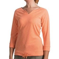 Woolrich Paradise Shirt - UPF 30, TENCEL®, 3/4 Sleeve (For Women)