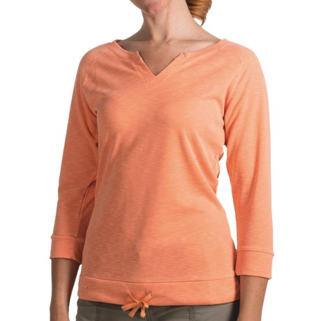 Woolrich Paradise Shirt - UPF 30, TENCEL®, 3/4 Sleeve (For Women)
