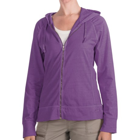 Woolrich First Forks Sweatshirt - UPF 50+, Zip Front (For Women)