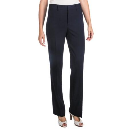 NYDJ Stretch Trouser Pants - Back Welt Pockets (For Women)